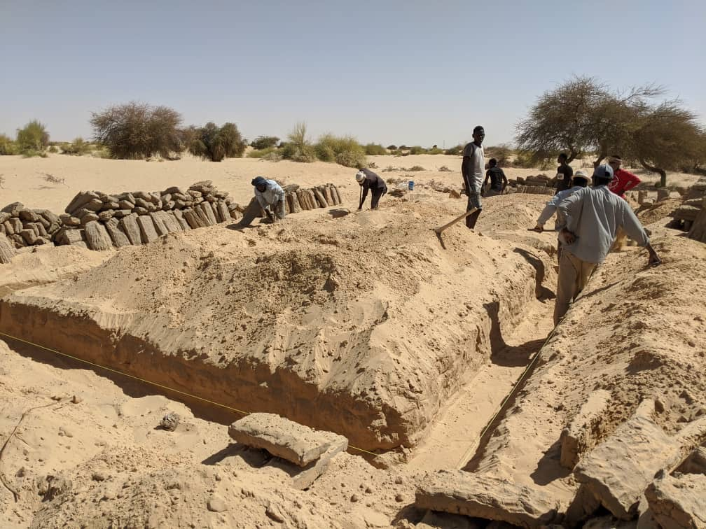 New School getting its foundation walls