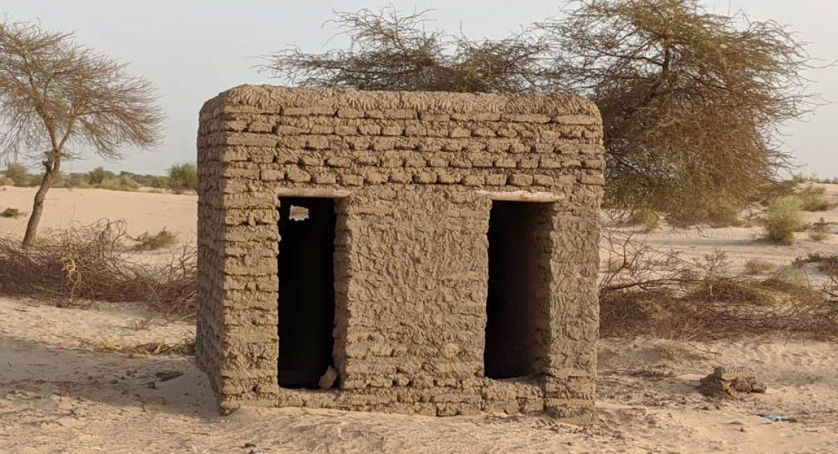Help our School - project school building. Photo: Bikima Ag Ibnou.